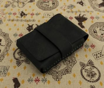 """Изумрудный карман для карт """"СМС"""""""