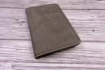 """Оливковая обложка для паспорта """"Скромность"""""""